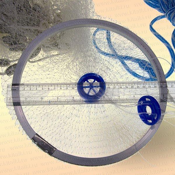 Кастинговая сеть с большим кольцом сделать своими руками 370